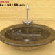Cultured marble wash basin, HQ wash basins