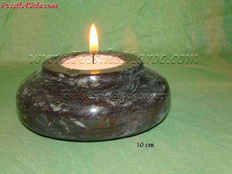 candle holders marble